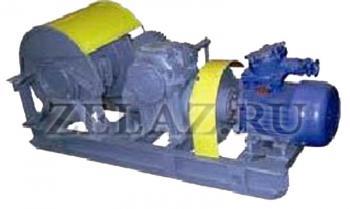 Лебедка шахтная вспомогательная 1ЛВ-10 - фото