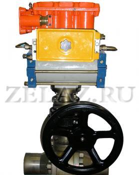 Привод пневматический для крана ППК-1 - фото